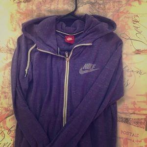 Women's Nike zip hoodie